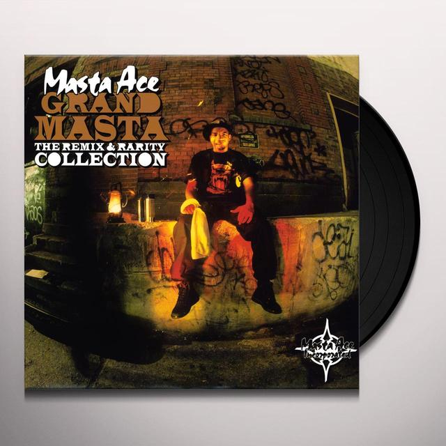 Masta Ace GRAND MASTA: THE REMIX & RARITY COLLECTION Vinyl Record - Remixes