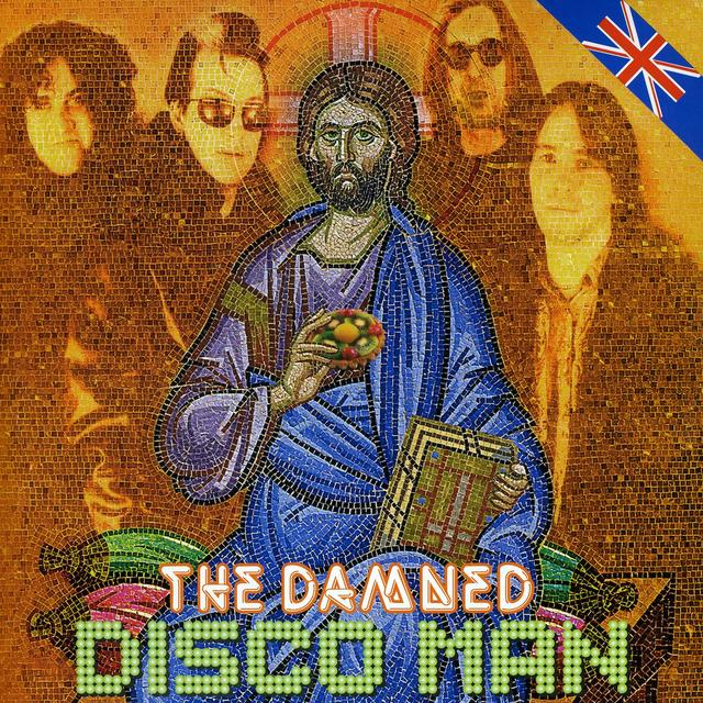 The Damned DISCO MAN Vinyl Record