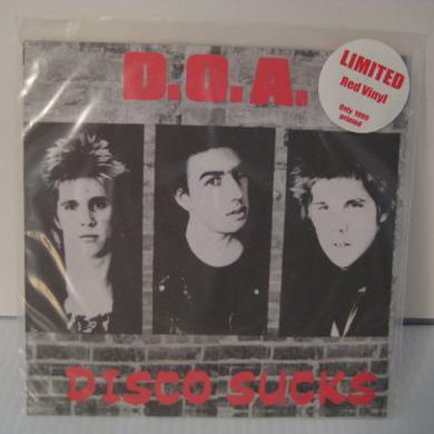 Doa DISCO SUCKS Vinyl Record