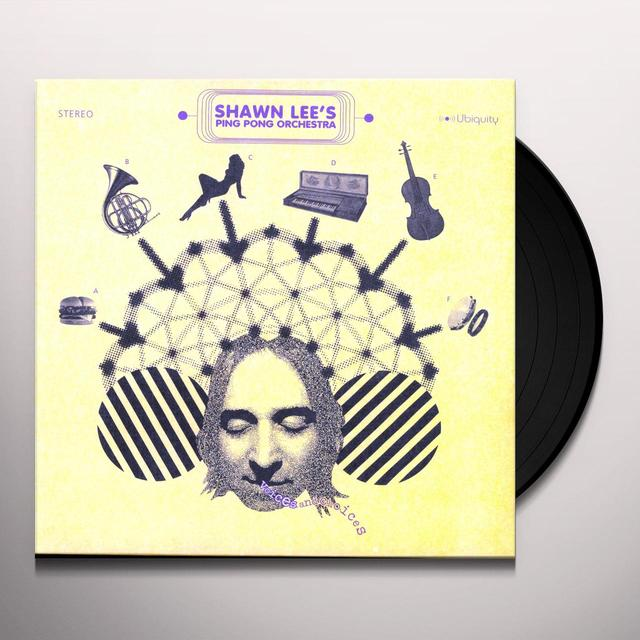 Shawn / Ping Pong Orchestra Lee VOICES & CHOICES Vinyl Record