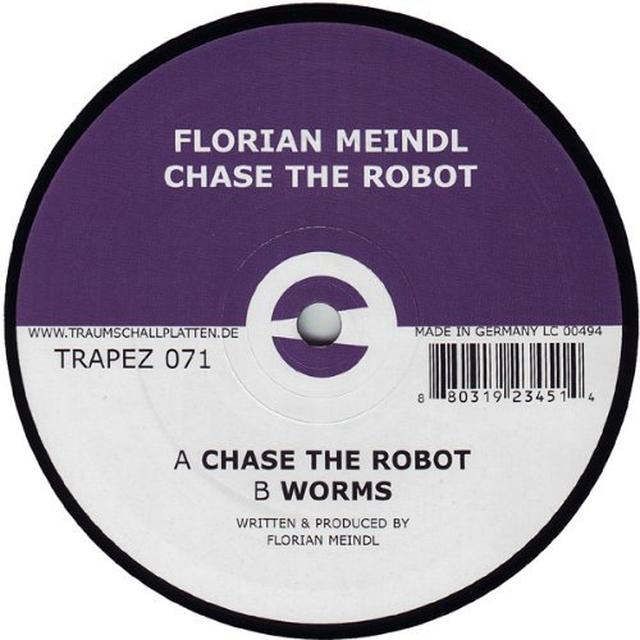Florian Meindl CHASE THE ROBOT (EP) Vinyl Record
