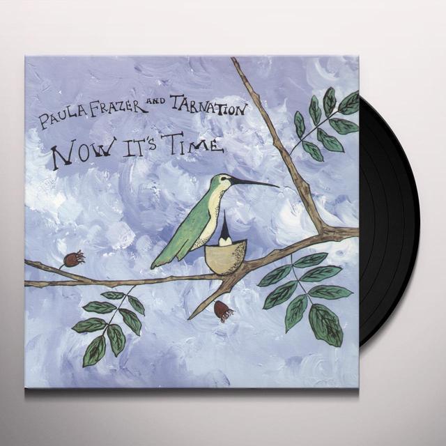 Paula Frazer & Tarnation NOW IT'S TIME Vinyl Record