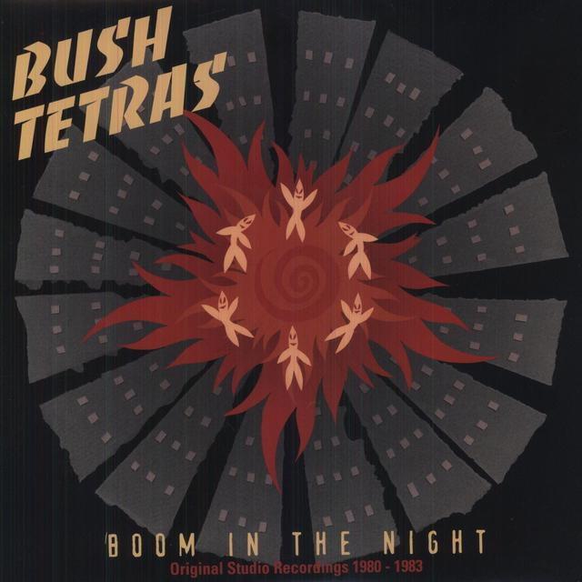 Bush Tetras BOOM IN THE NIGHT Vinyl Record