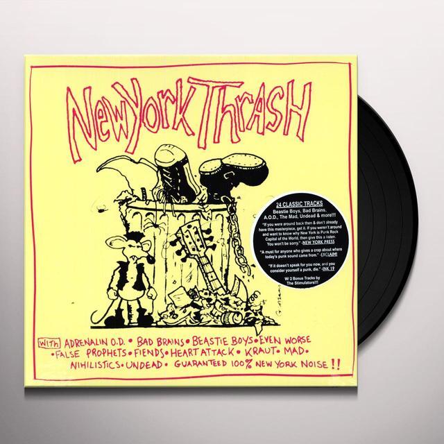 NEW YORK THRASH / VARIOUS Vinyl Record