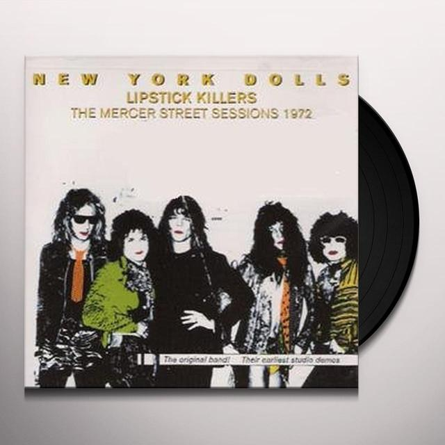 New York Dolls LIPSTICK KILLERS Vinyl Record