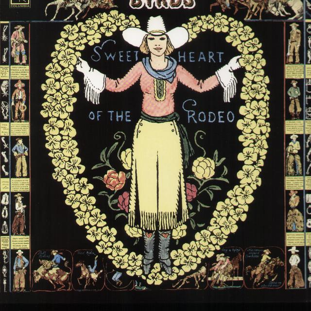 The Byrds SWEETHEART OF THE RODEO Vinyl Record
