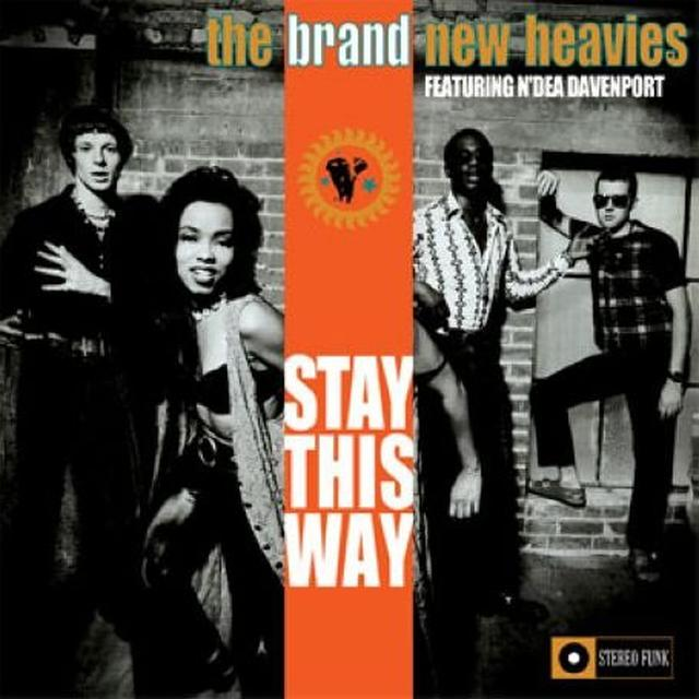 The Brand New Heavies STAY THIS WAY Vinyl Record