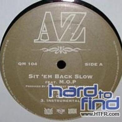 Az SIT EM BACK SLOW / THIS IS WHAT I DO Vinyl Record