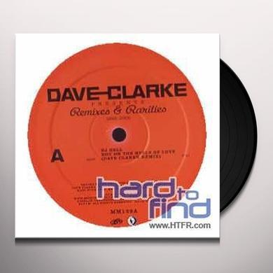 Dave Clarke REMIXES & RARITIES 1992-2005 1 (EP) Vinyl Record - Remixes