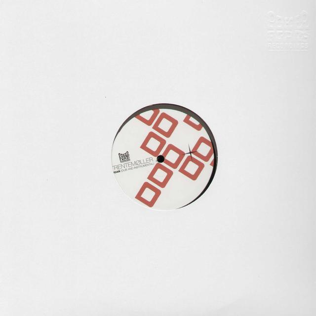 Trentemøller MOAN - WHITE LABEL Vinyl Record