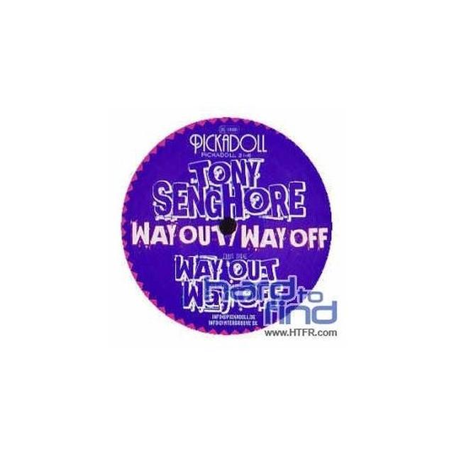 Tony Senghore WAY OUT / WAY OFF Vinyl Record