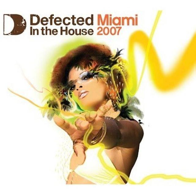 DEFECTED IN THE HOUSE: MIAMI 2007 PT 1 / VARIOUS Vinyl Record