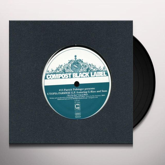 Patrick Pulsinger COMPOST BLACK LABEL #15: UTOPIA PARKWAY EP Vinyl Record