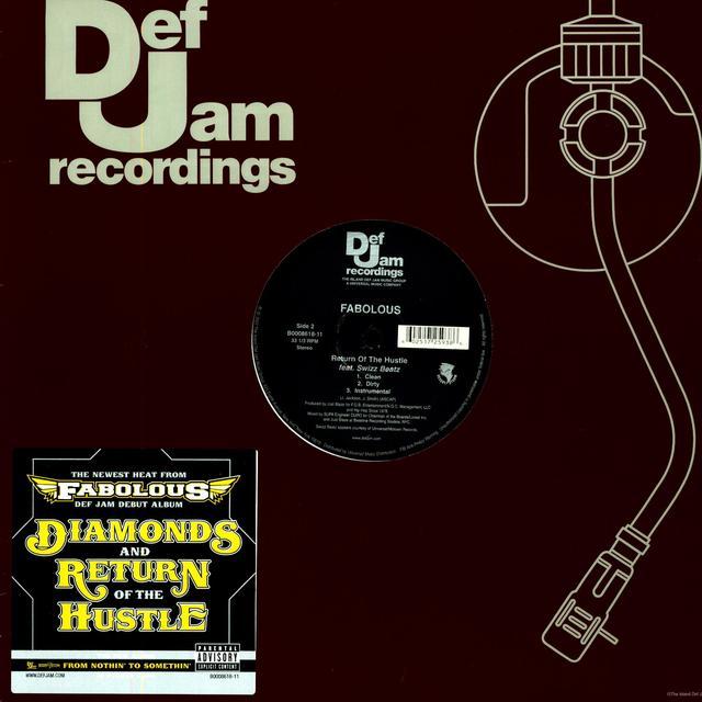 Fabolous DIAMONDS (X3) / RETURN OF THE HUSTLE (X3) Vinyl Record