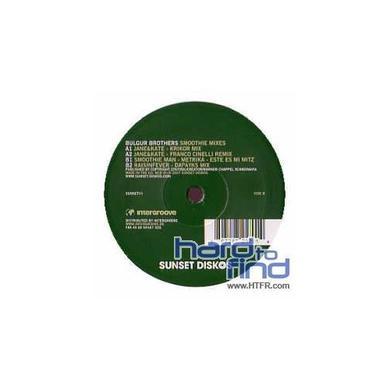 Bulgur Brothers SMOOTHIE MIXES Vinyl Record