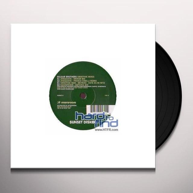 Bulgur Brothers SMOOTHIE MIXES (EP) Vinyl Record