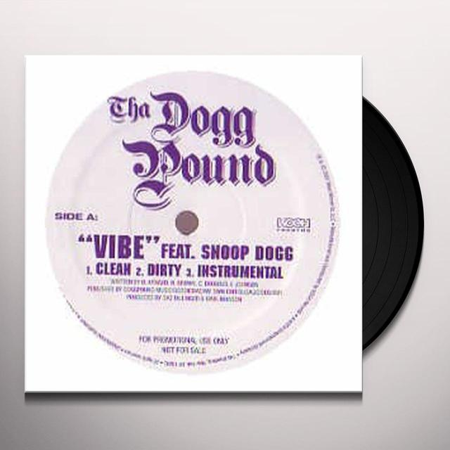 Tha Dogg Pound VIBE / A GOOD DAY Vinyl Record