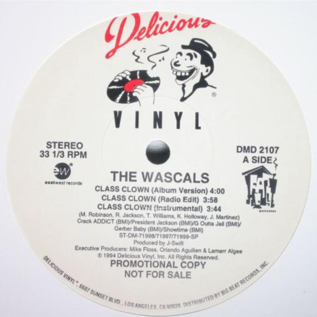 Wascals DIPS / CLASS CLOWN / HARD RHYMES Vinyl Record