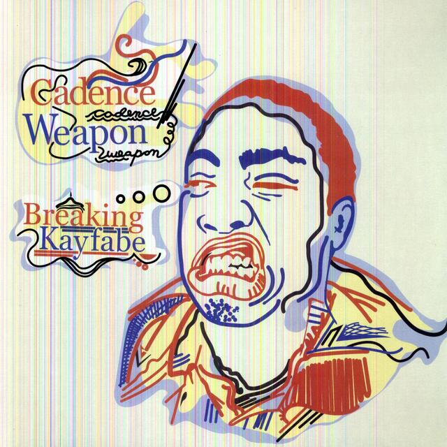 Cadence Weapon BREAKING KAYFABE Vinyl Record