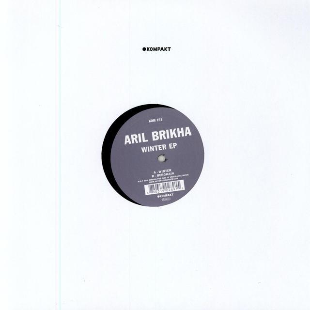 Aril Brikha WINTER EP Vinyl Record