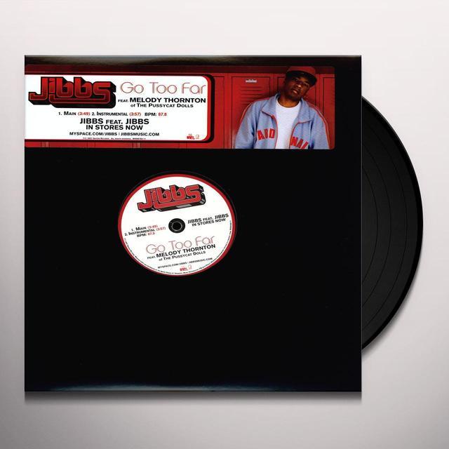 Jibbs GO TOO FAR (X2) / KING KONG (X2) Vinyl Record
