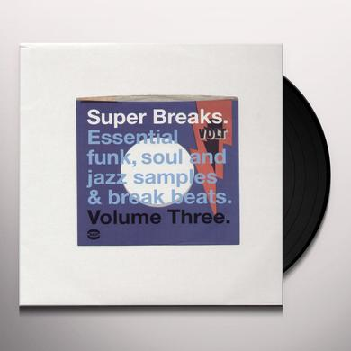 SUPER BREAKS: ESSENTIAL FUNK SOUL & JAZZ 3 / VAR Vinyl Record