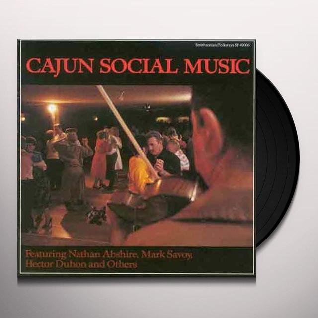CAJUN SOCIAL MUSIC / VARIOUS Vinyl Record