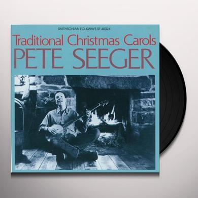 Pete Seeger TRADITIONAL CHRISTMAS CAROLS Vinyl Record