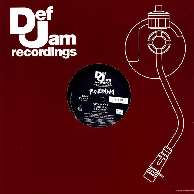 Redman PUT IT DOWN (X2) / GIMMIE ONE (X2) Vinyl Record