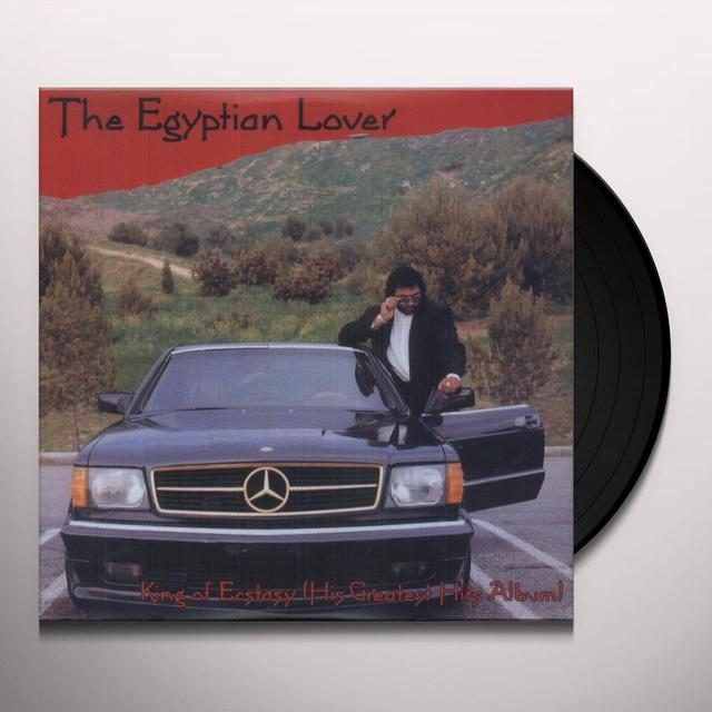 Egyptian Lover KING OF ECSTASY: GREATEST HITS Vinyl Record