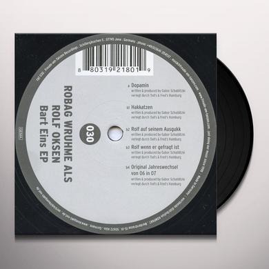 Rolf Oksen BART EINS EP Vinyl Record