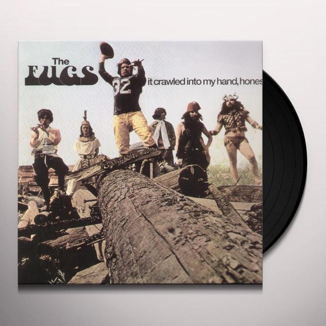 Fugs IT CRAWLED INTO MY HAND HONEST Vinyl Record