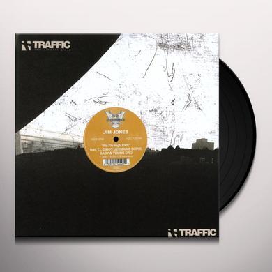Jim Jones WE FLY HIGH RMX / BALLIN ON XMAS Vinyl Record