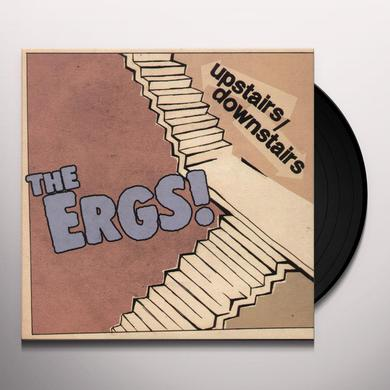 The Ergs! UPSTAIRS / DOWNSTAIRS Vinyl Record