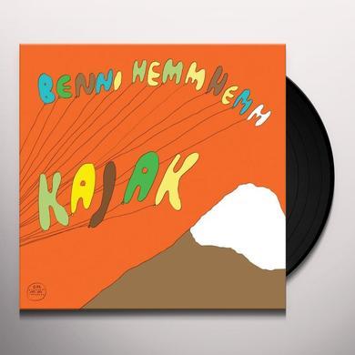 Benni Hemm Hemm KAJAK Vinyl Record