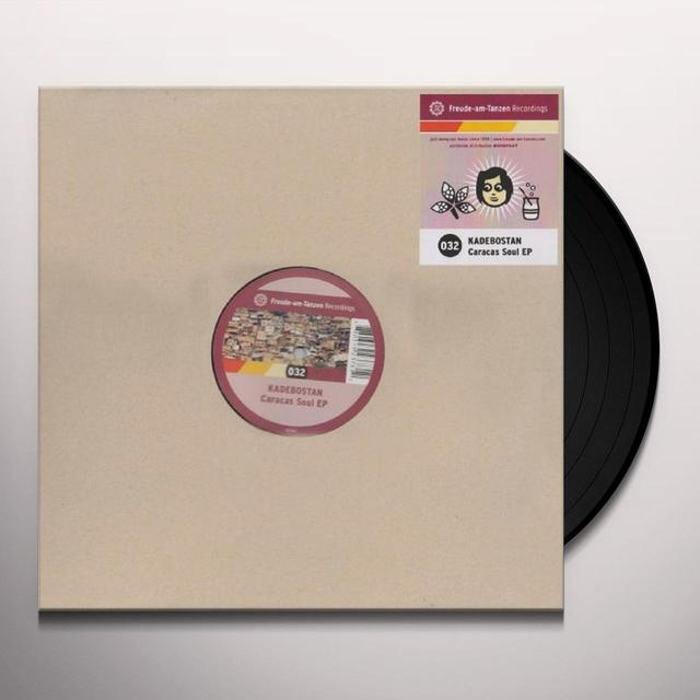Kadebostan CARACAS SOUL (EP) Vinyl Record