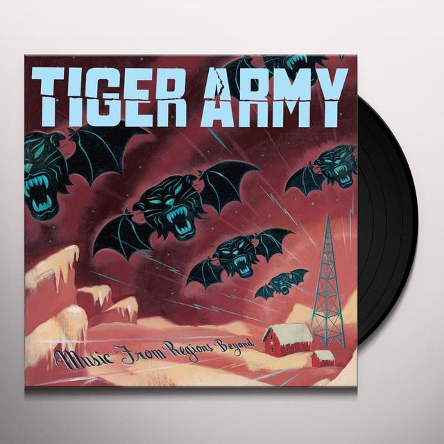 Tiger Army MUSIC FROM REGIONS BEYOND Vinyl Record