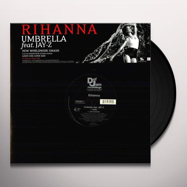 Rihanna UMBRELLA (X2) Vinyl Record