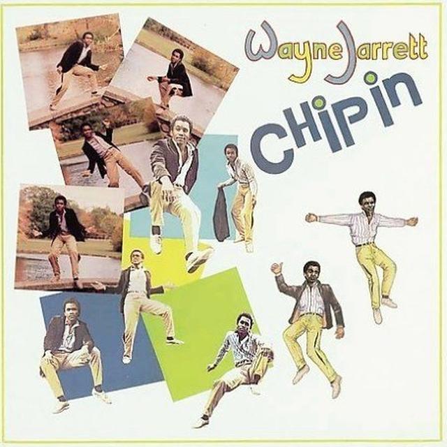 Wayne Jarrett CHIP IN Vinyl Record