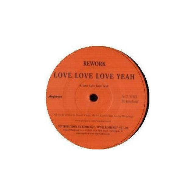 Rework LOVE LOVE LOVE YEAH Vinyl Record