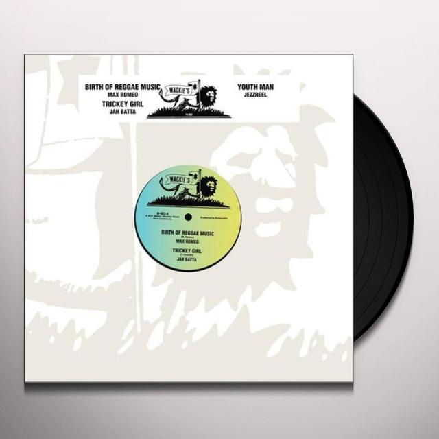 Max Romeo BIRTH OF REGGAE MUSIC (EP) Vinyl Record