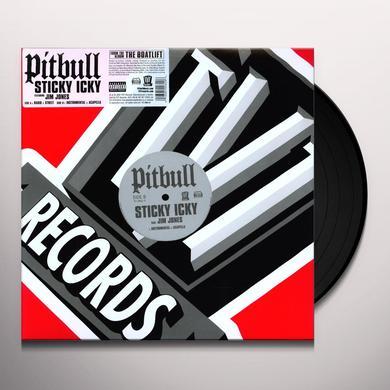 Pitbull STICKY ICKY Vinyl Record