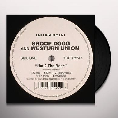 Snoop Dogg HAT 2 THA BACC Vinyl Record