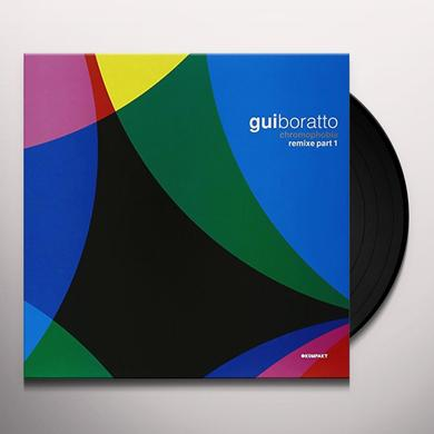 Gui Boratto CHROMOPHOBIA REMIXES 1 Vinyl Record