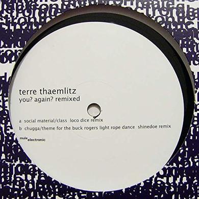 Terre Thaemlitz YOU AGAIN REMIXED Vinyl Record