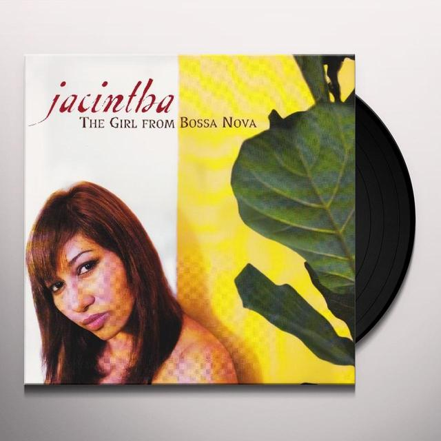 Jacintha GIRL FROM BOSSA NOVA Vinyl Record