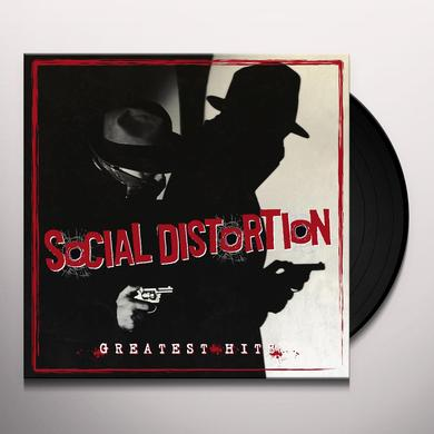 Social Distortion GREATEST HITS Vinyl Record