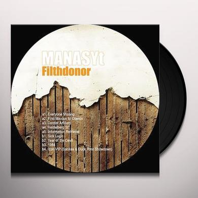 Manasyt FILTHDONOR Vinyl Record