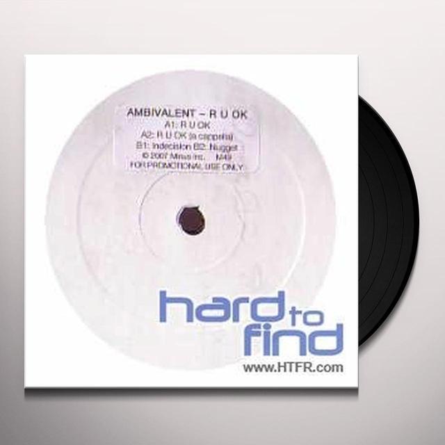 Ambivalent R U OK (EP) Vinyl Record