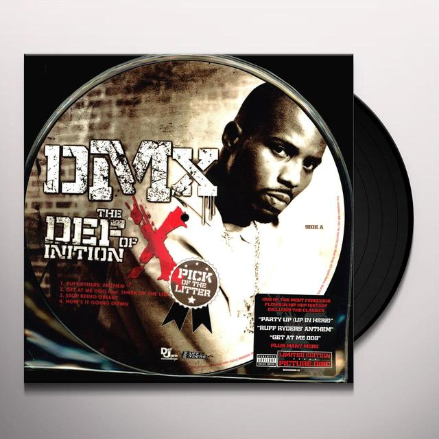 Dmx DEFINITION OF X: THE PICK OF THE LITTER Vinyl Record - Special Packaging